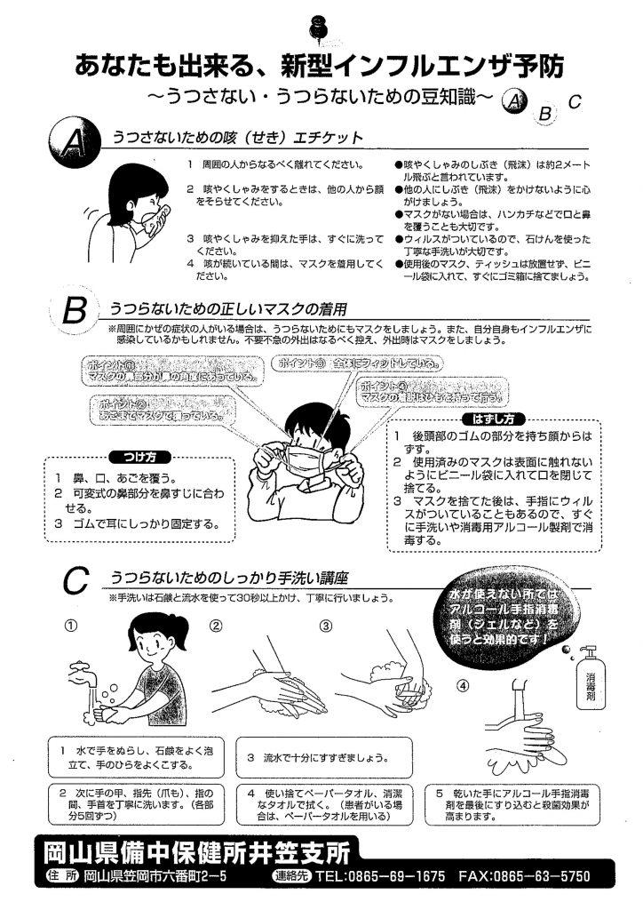 29.2.11新型インフルエンザ予防
